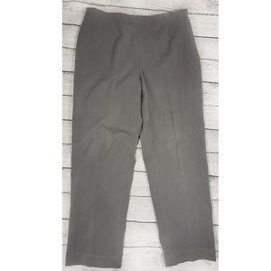 Talbots Petite Stretch Classic Side Zip Dress Pant